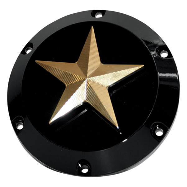NYC Choppers Brass Nautical Star Derby Cover
