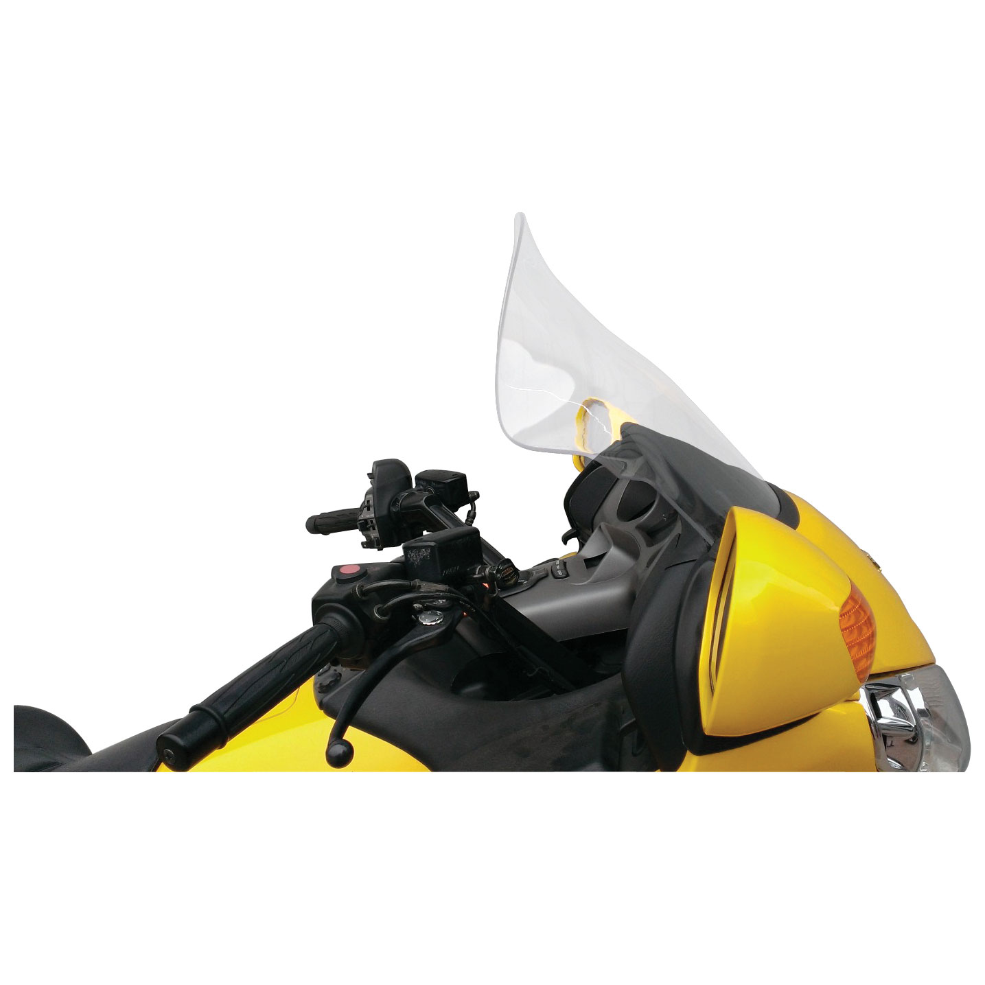 Klock Werks 14″/18″ Clear Flare Windshield
