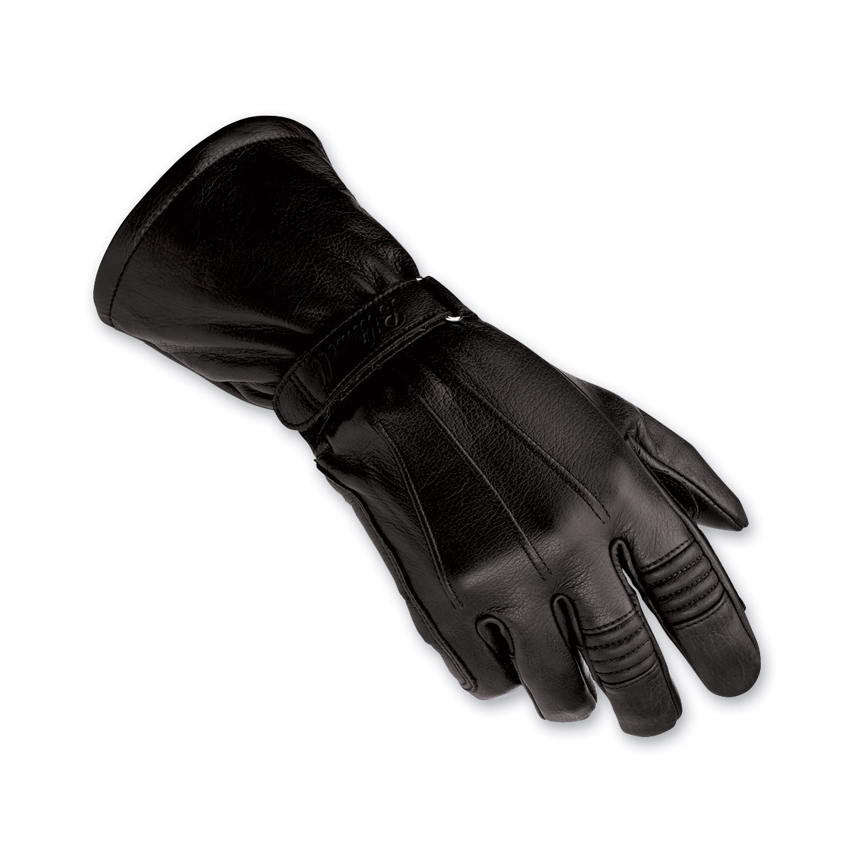 Biltwell Inc. Men's Black Gauntlet Gloves