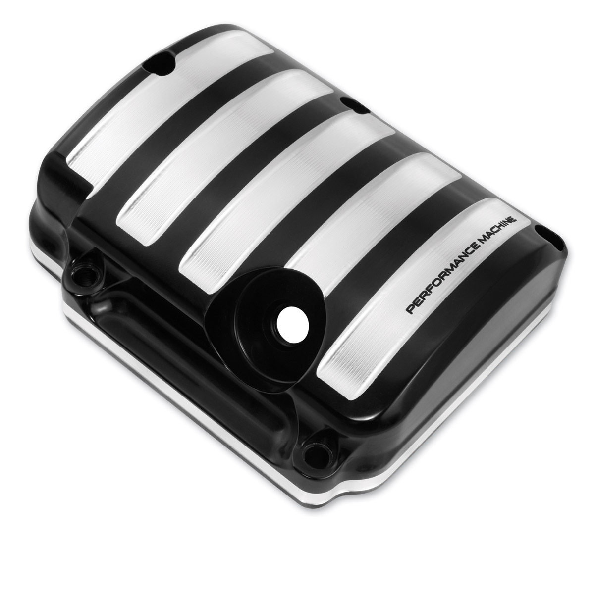 Performance Machine Drive Transmission Top Cover Contrast Cut