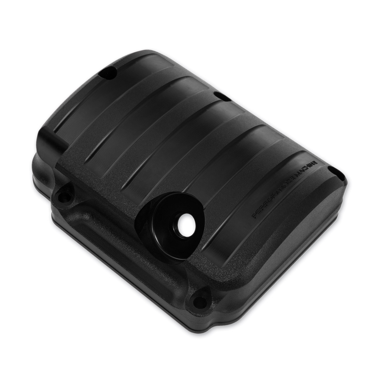 Performance Machine Drive Transmission Top Cover Black Ops