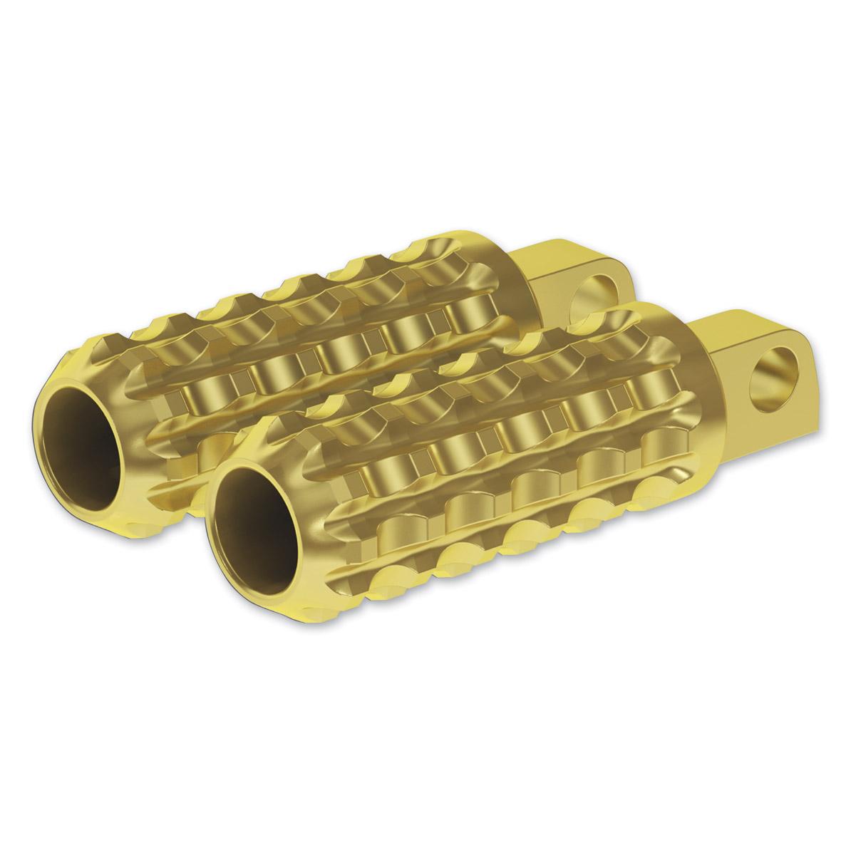 Roland Sands Design Brass Traction Footpegs
