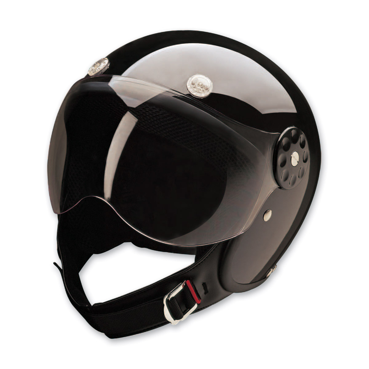 HCI-15 Black Open Face Helmet