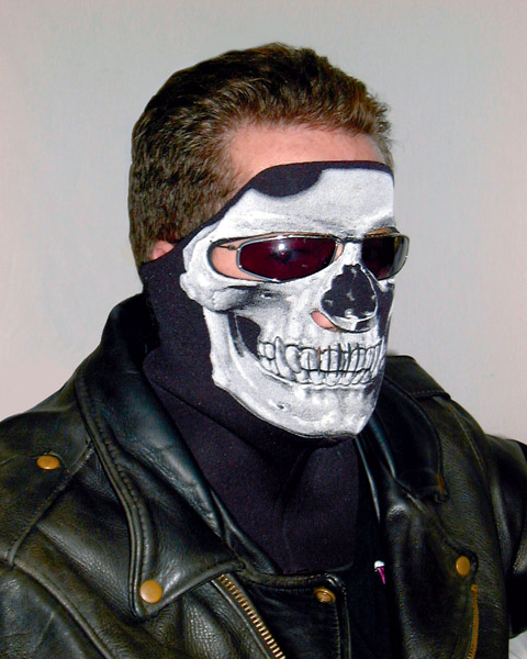 Wicked Wear Skull X-tremely Cool Weather Mask