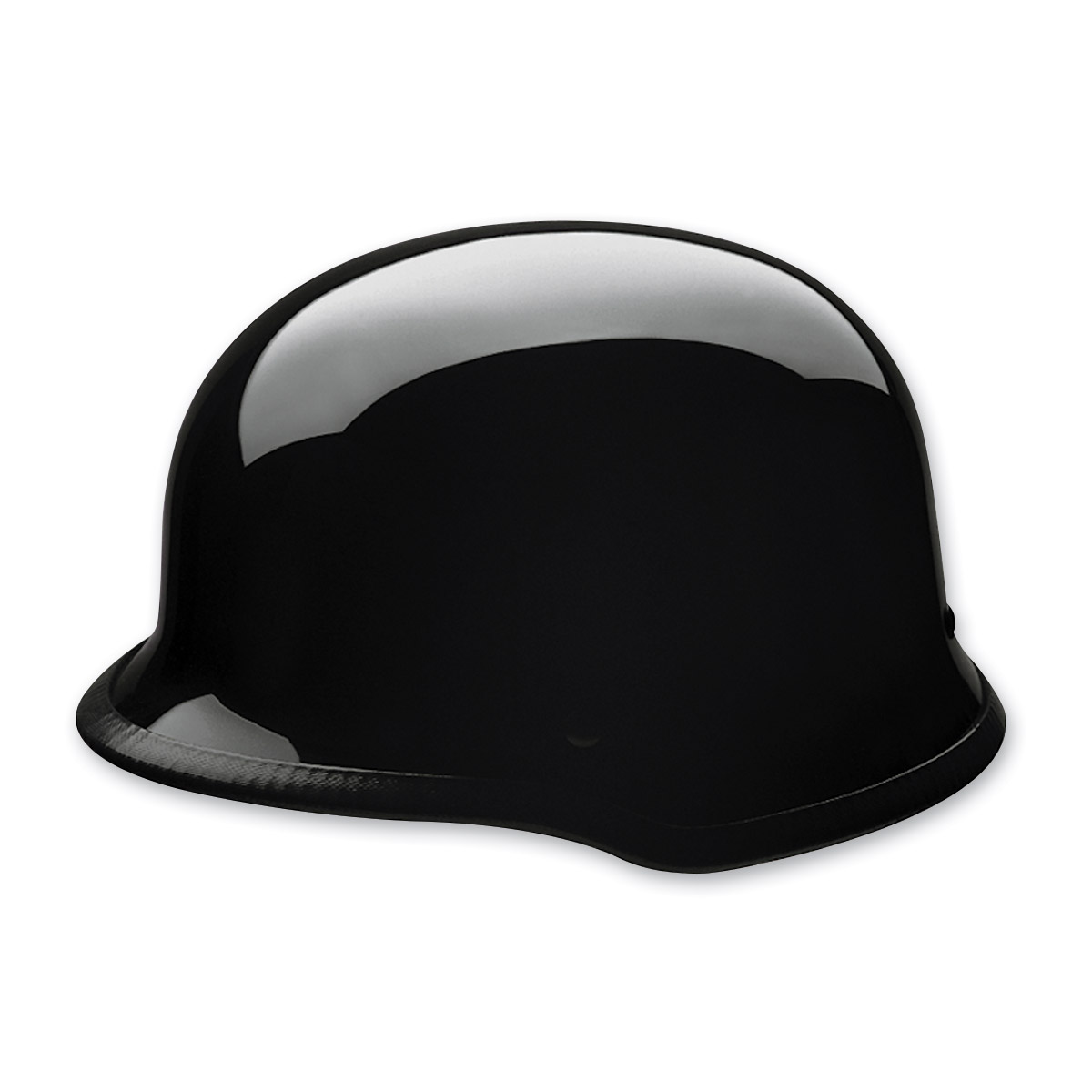 HCI-115 German Black Half Helmet