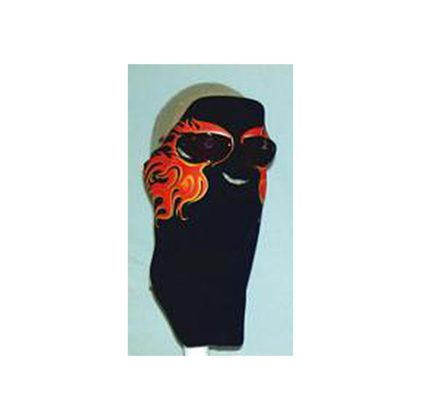 Wicked Wear Hot Flames X-tremely Cool Weather Mask