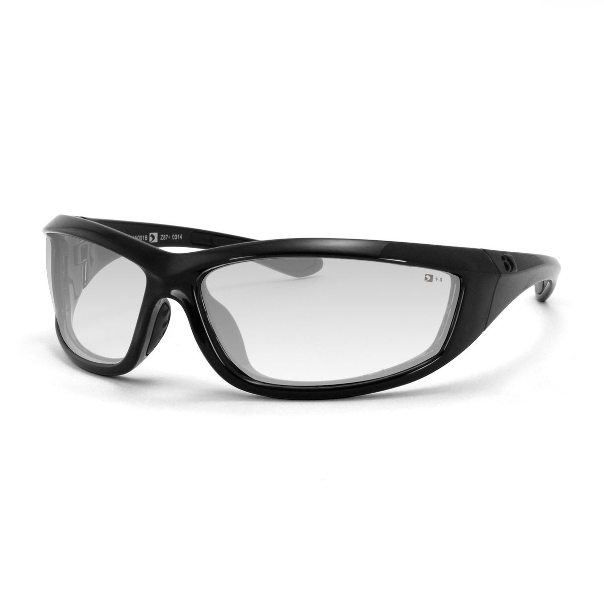 Bobster Charger Sunglasses with Clear Lenses