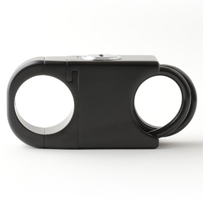Helmet Secure Black Lock