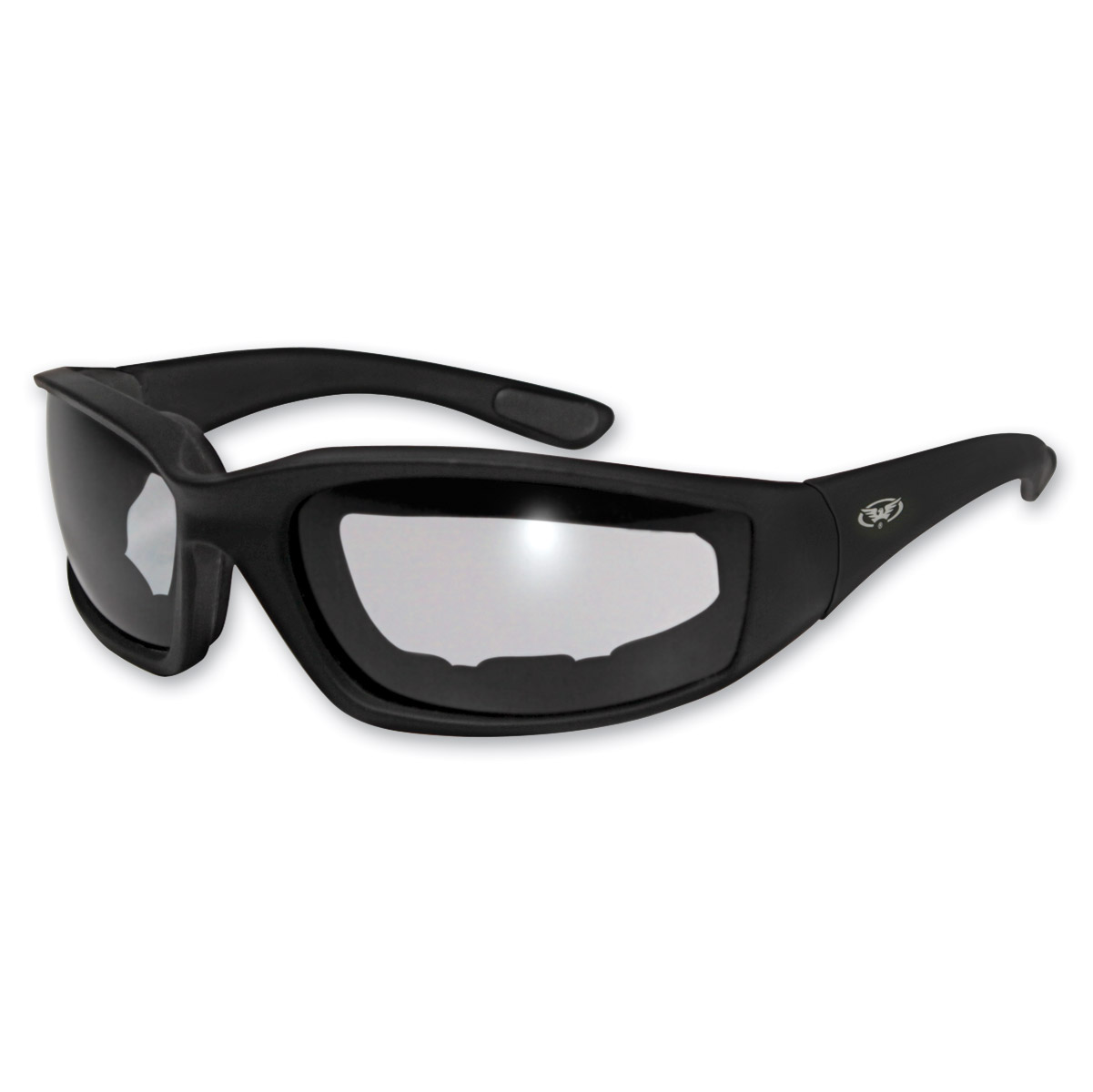 Global Vision Eyewear Kickback Padded Sunglasses with Clear Lens