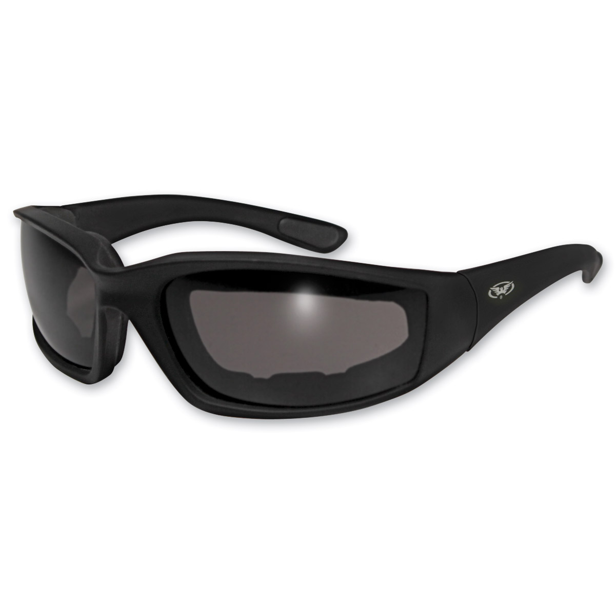 Global Vision Eyewear Kickback Padded Sunglasses with Smoke Lens