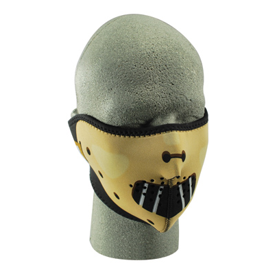 ZAN headgear Hannibal Neoprene Half Face Mask