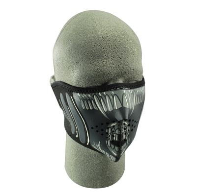 ZAN headgear Alien Neoprene Half Face Mask