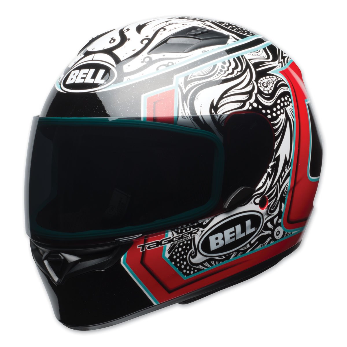 Bell Full Face Helmet >> Bell Qualifier Tagger Splice Full Face Helmet 7092798 Jpcycles Com