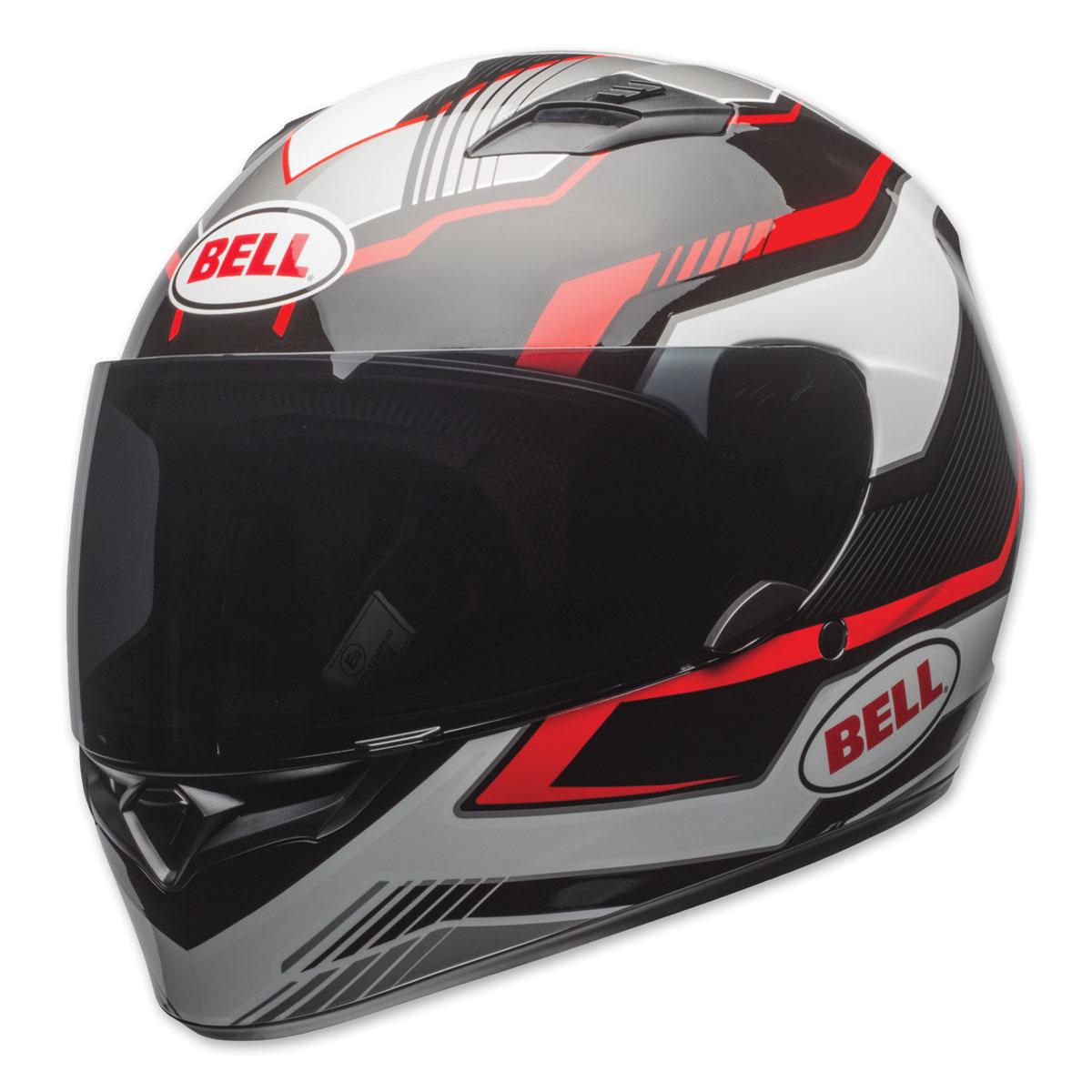 Bell Qualifier Torque Full Black/Red Face Helmet