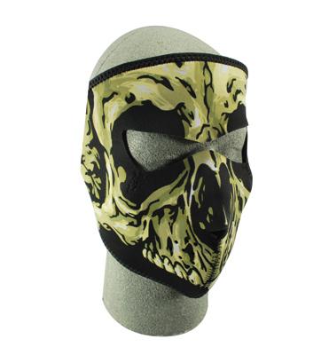 ZAN headgear Skull Neoprene Face Mask