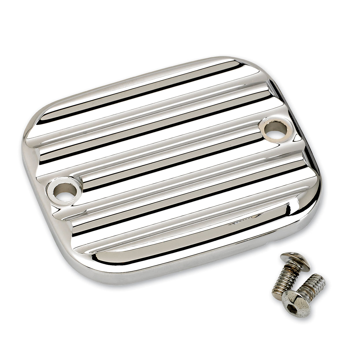 Joker Machine Chrome Finned Master Cylinder Cover