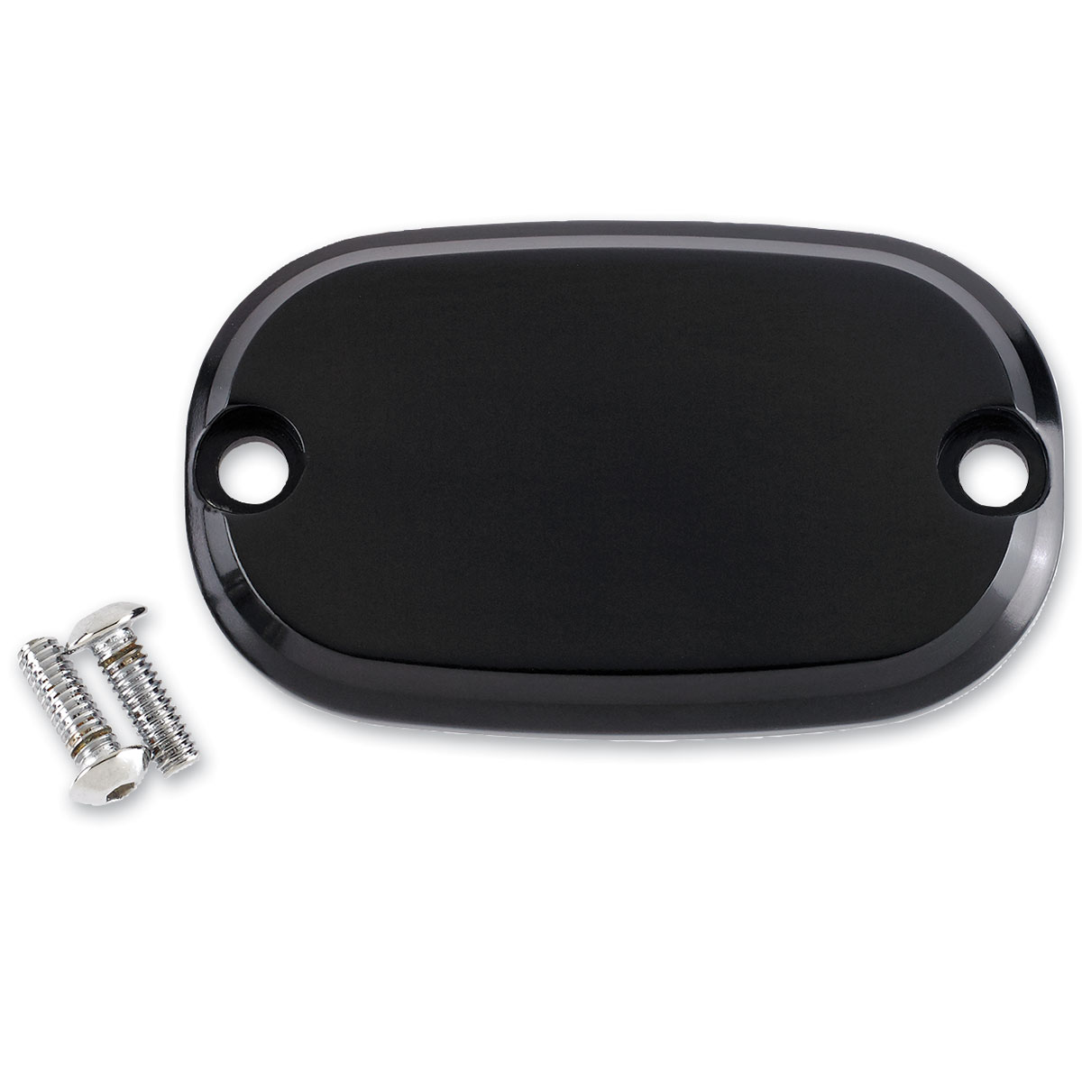 Joker Machine Black Smooth Rear Master Cylinder Cover