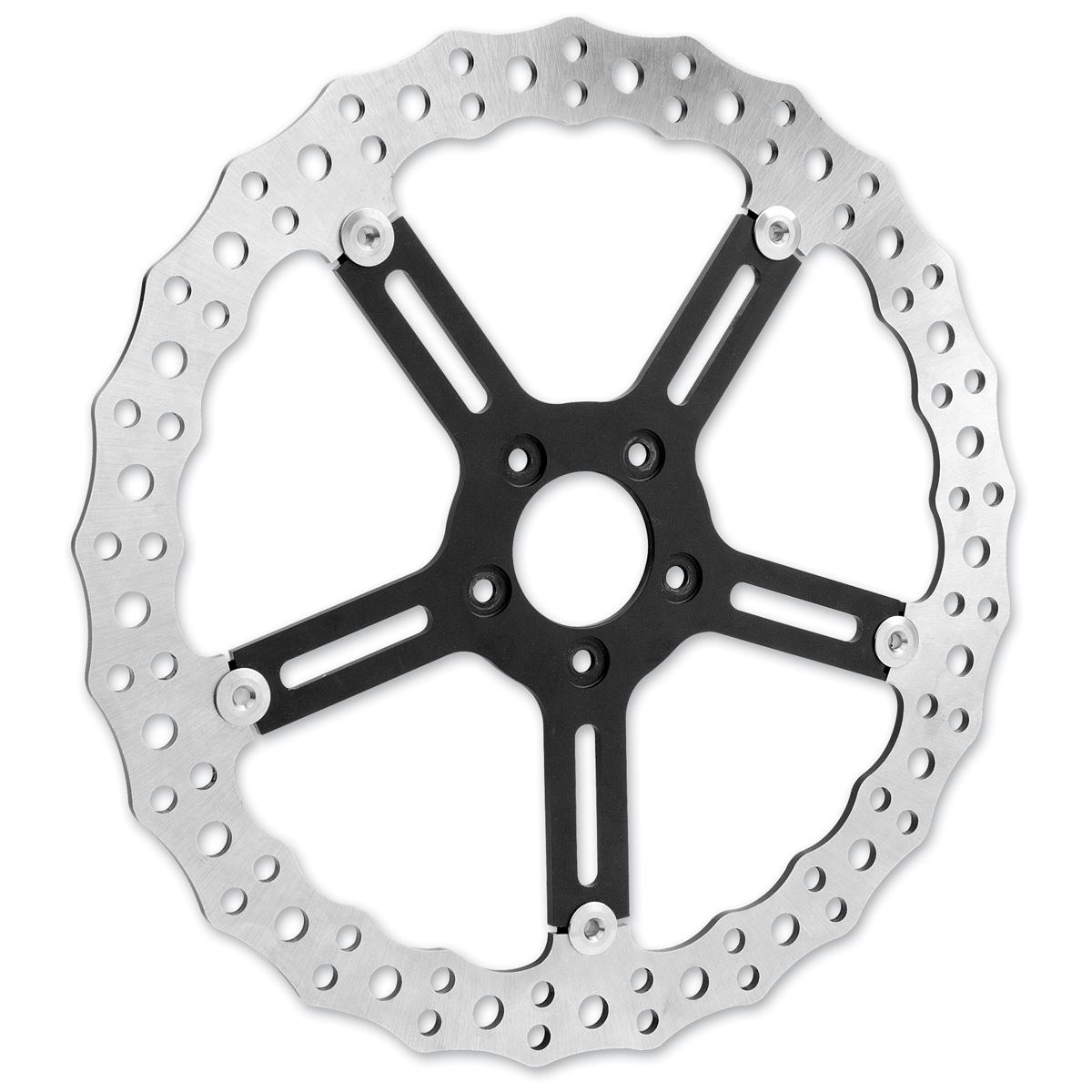 Arlen Ness 15″ Oversize Jagged Right Hub Mount Rotor