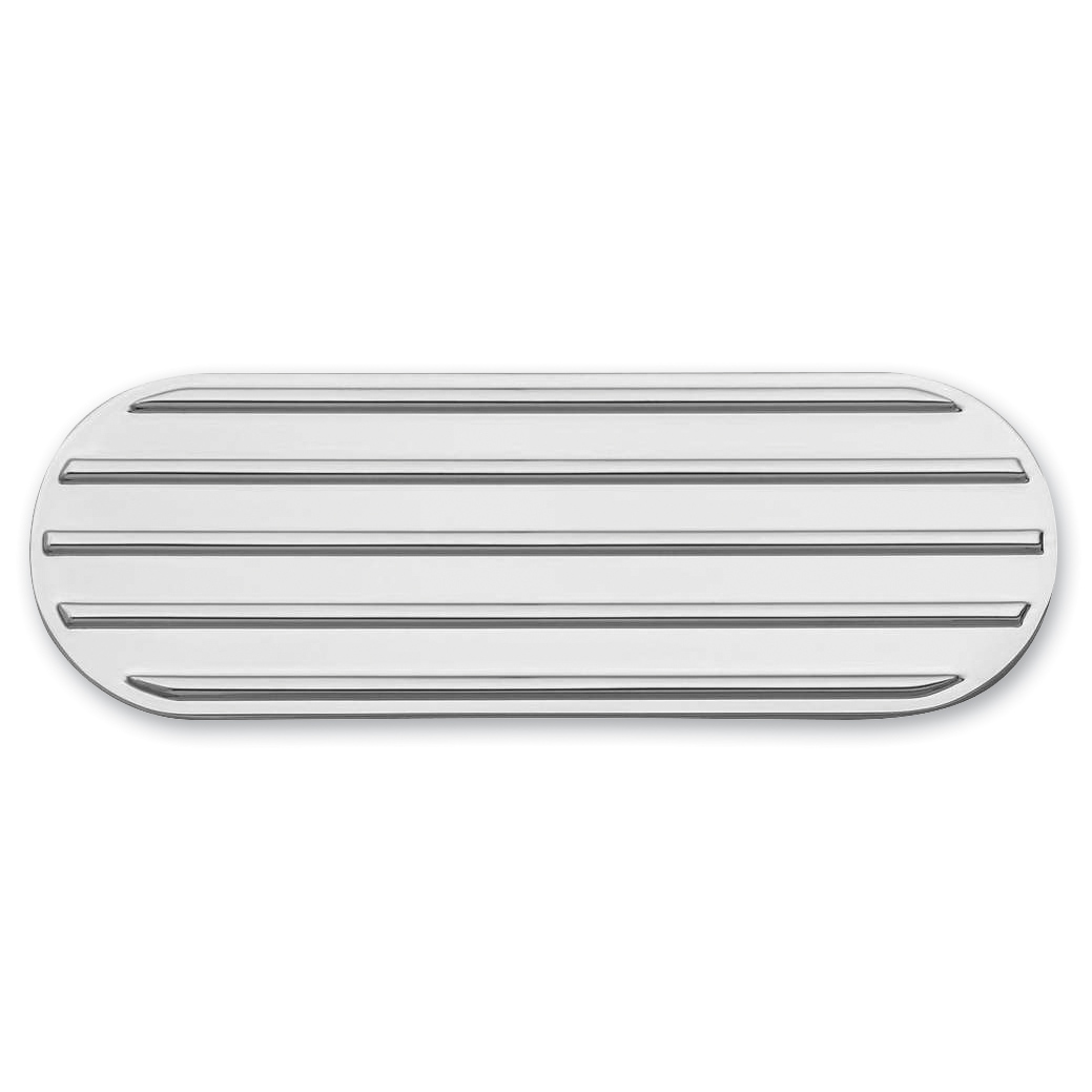 Kuryakyn Chrome Finned Transmission Cover Accents
