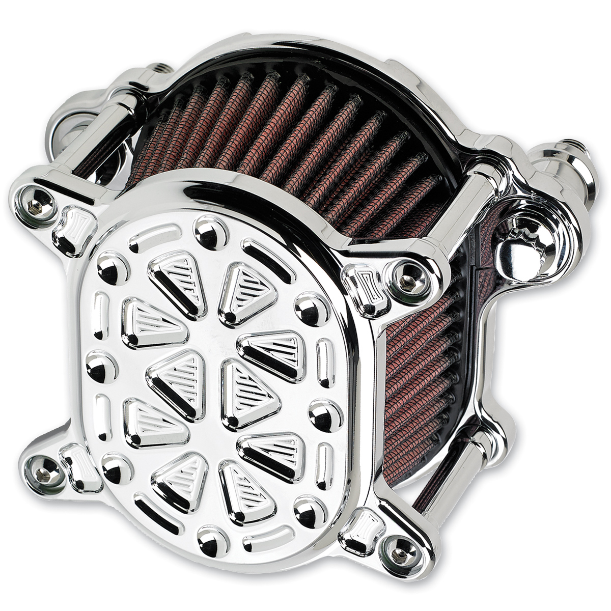 Joker Machine Omega Air Cleaner Techno Chrome