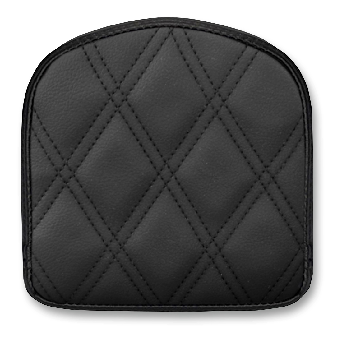 Saddlemen Sissy Bar Pad Black 6″ Diamond Stich
