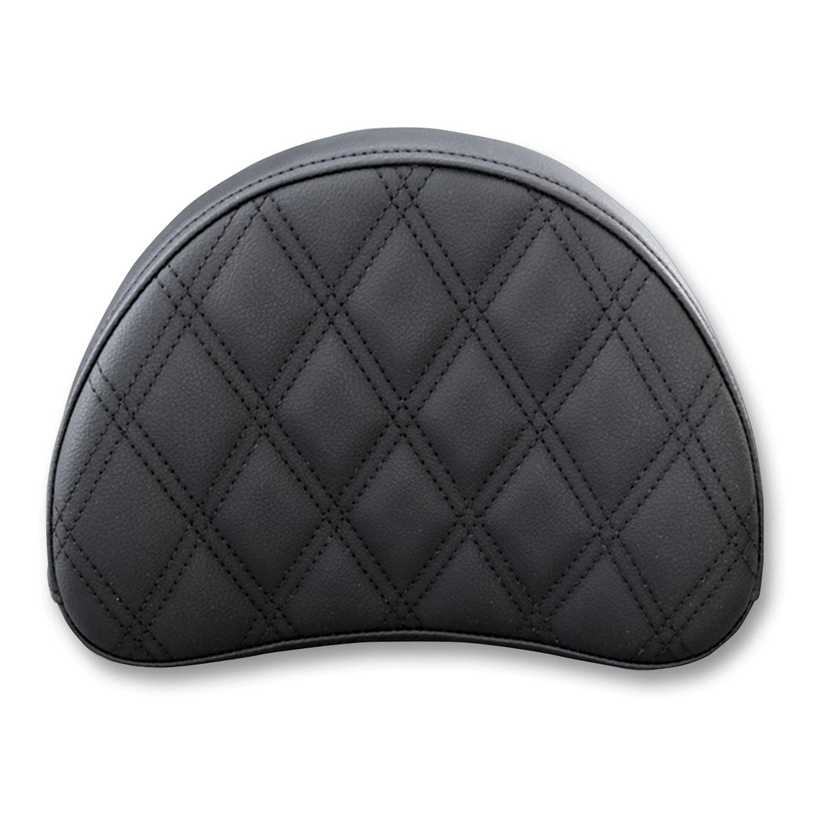 Saddlemen Sissy Bar Pad Black 9″ Diamond Stich