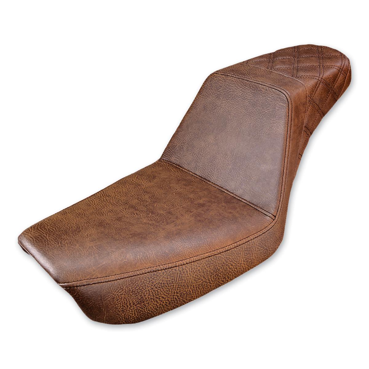 Saddlemen Rear LS Step Up Brown Seat