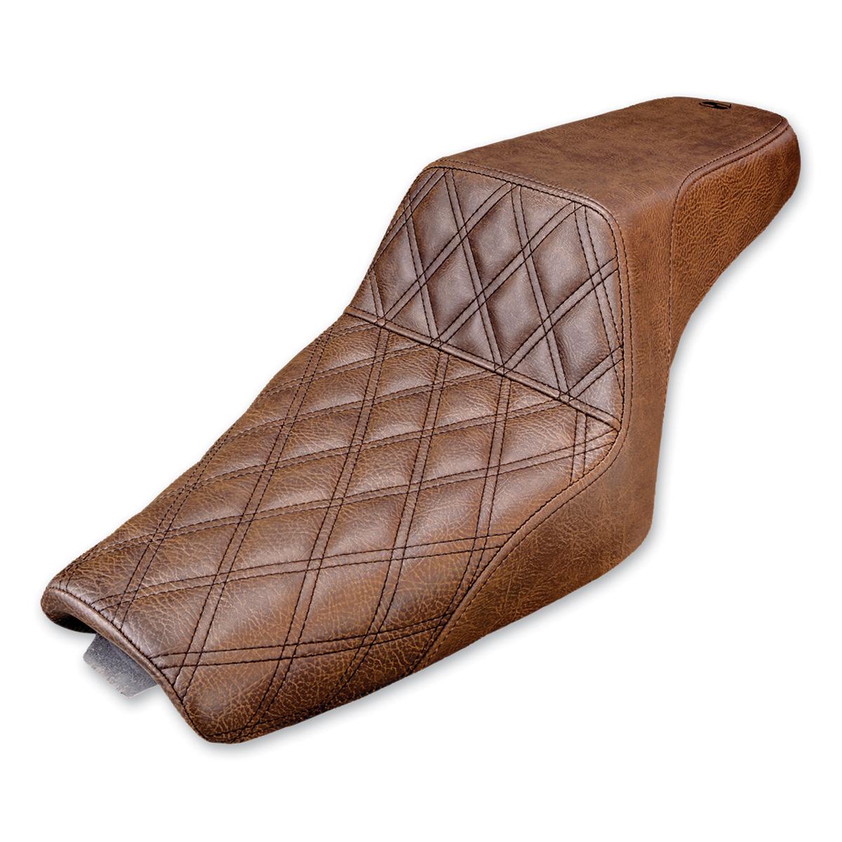 Saddlemen Front LS-Step Up Brown Seat