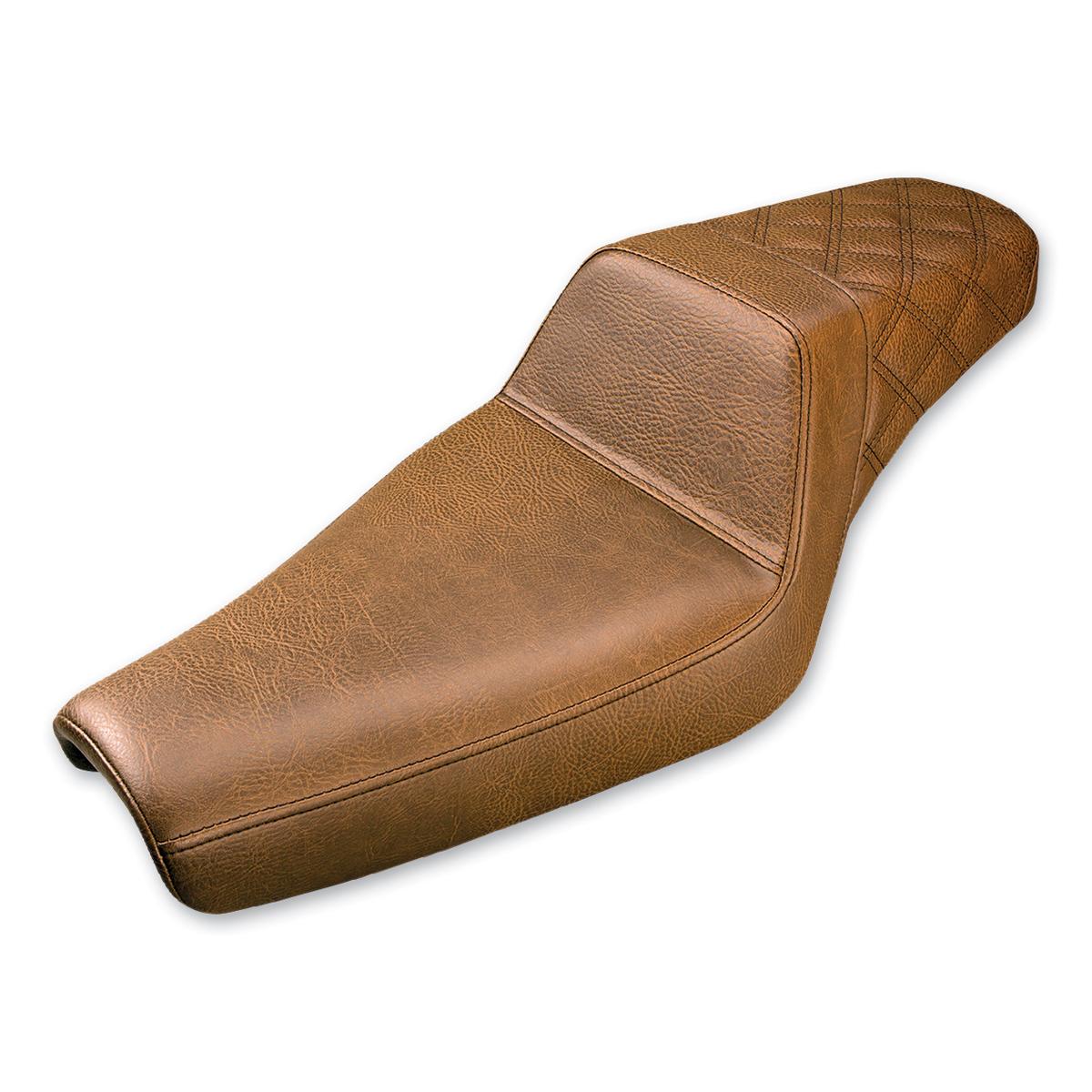 Saddlemen Rear LS-Step Up Brown Seat