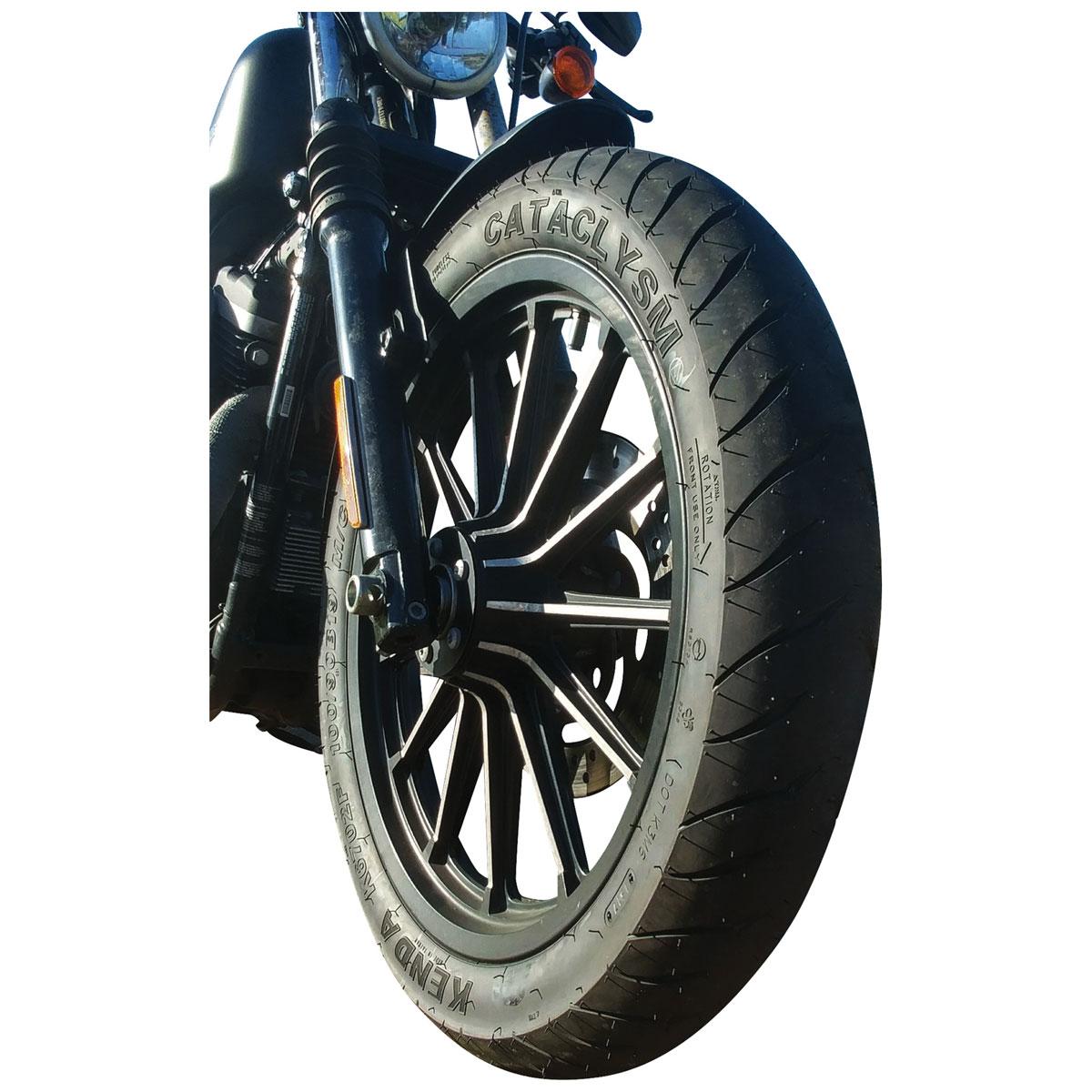 K6702 Cataclysm Front Tires~2013 Harley Davidson FLTRU Road Glide Ultra