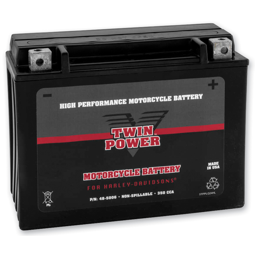 Twin Power Maintenance Free AGM Battery