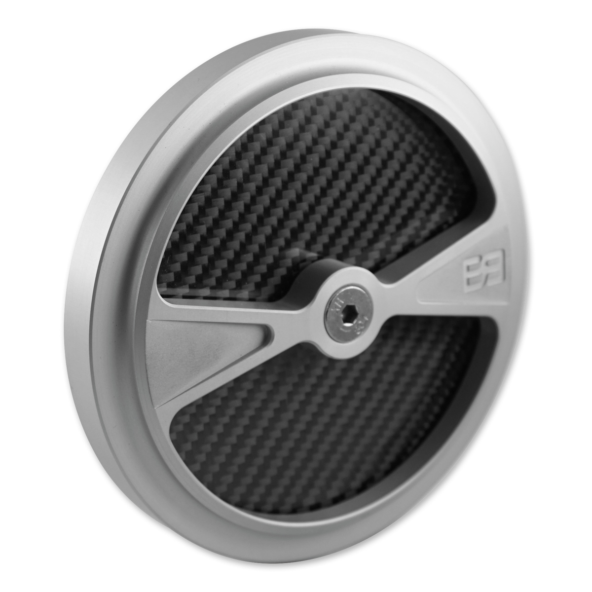 Brass Balls Cycles F1 Air Cleaner Cover for S&S Stealth Air Cleaners Clear