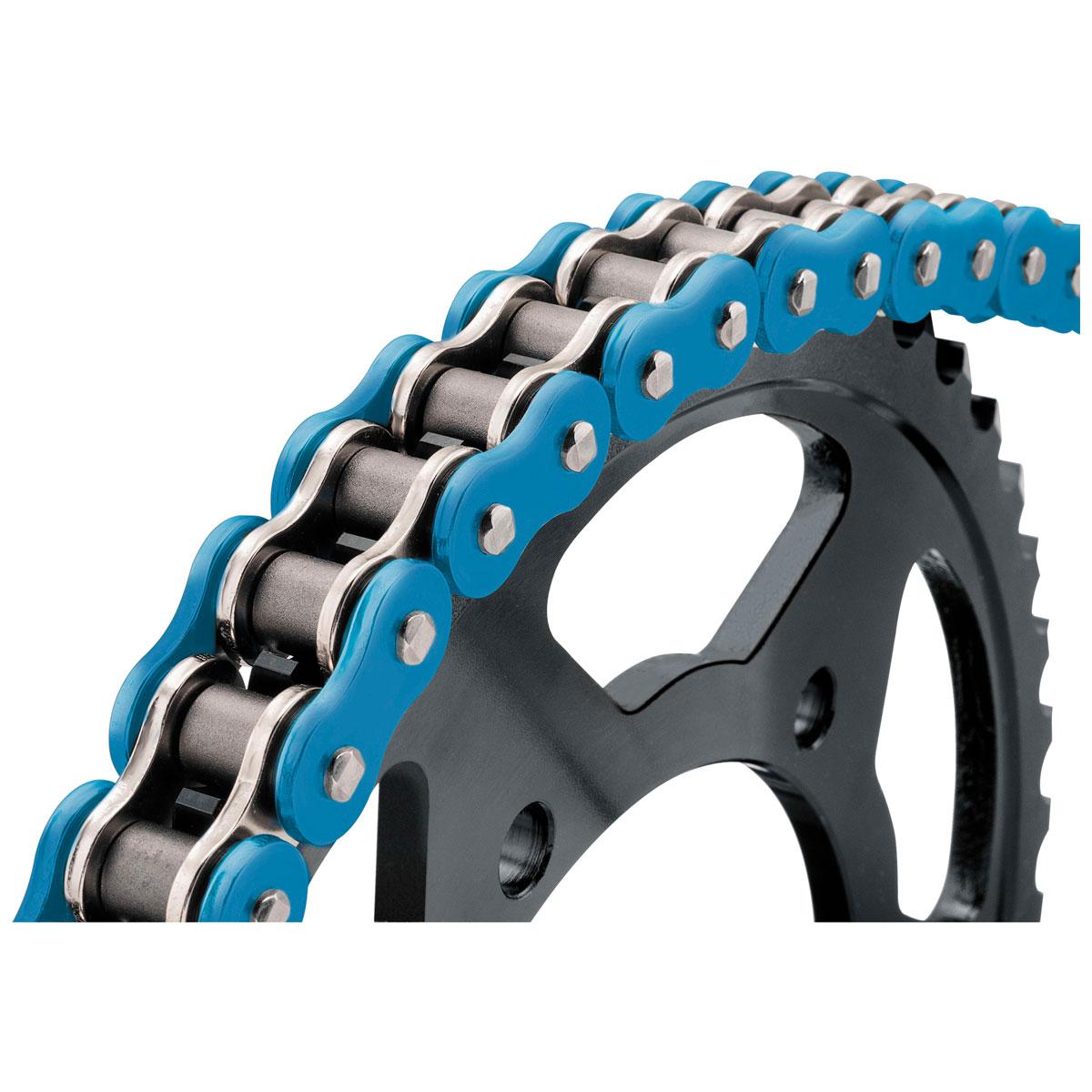 BikeMaster BMXR X-Ring Chain Blue