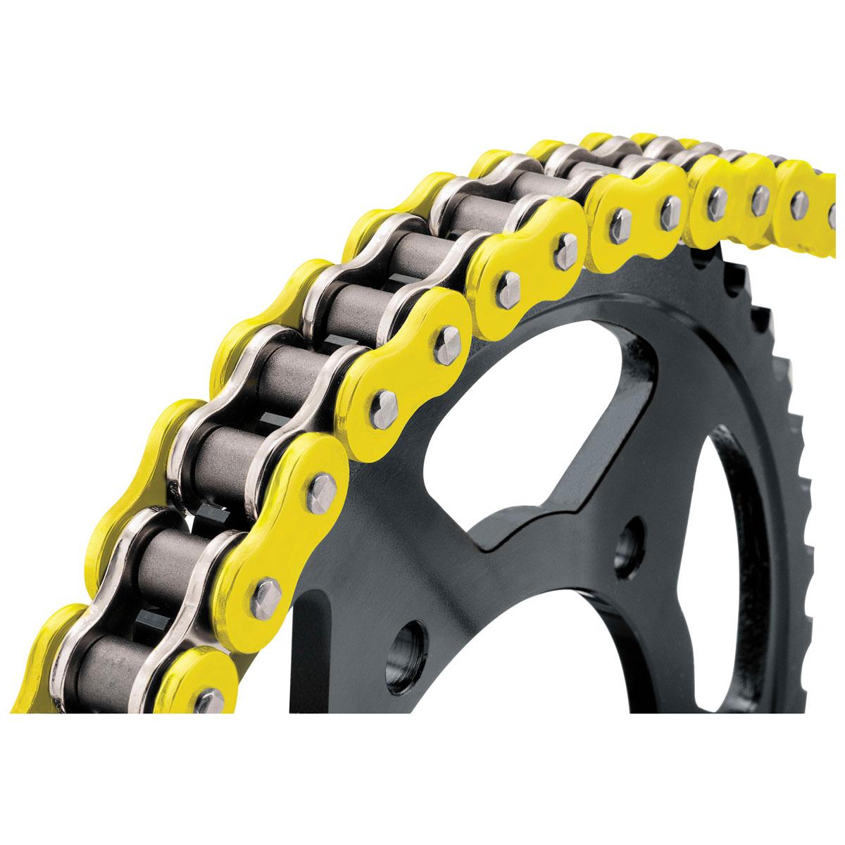 BikeMaster BMXR X-Ring Chain Yellow