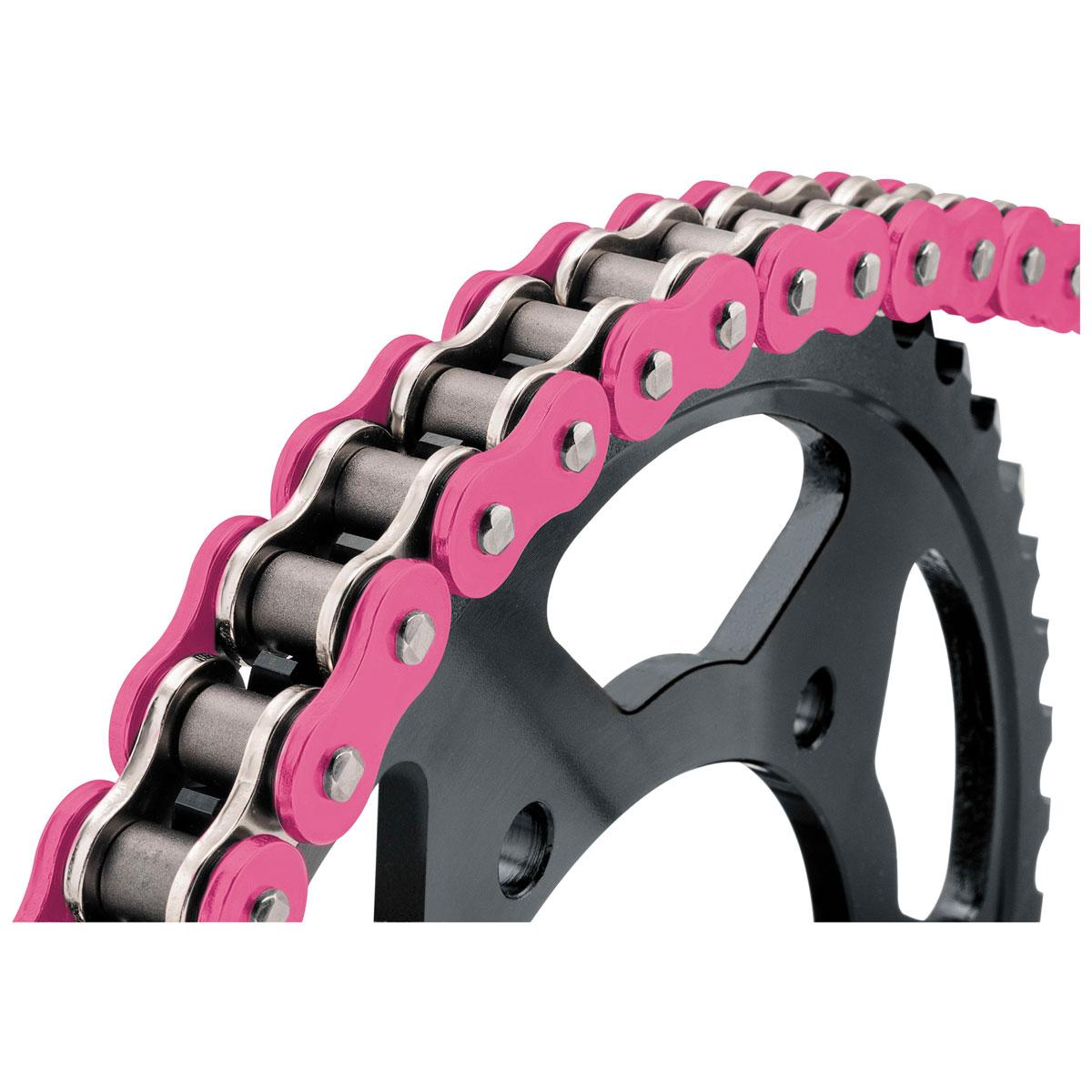 BikeMaster BMXR X-Ring Chain Pink
