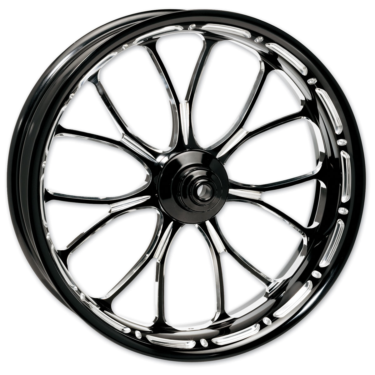 Performance Machine Heathen Platinum Cut Rear Wheel 18x3.5 Non-ABS
