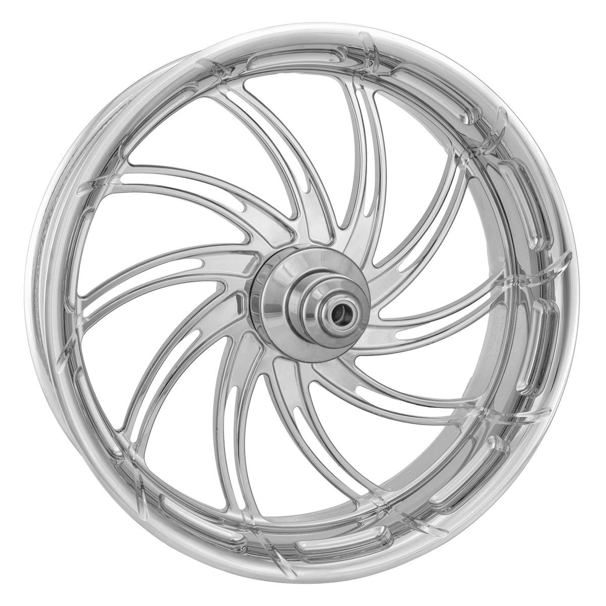 Performance Machine Supra Chrome Rear Wheel 18x4.25 Non-ABS