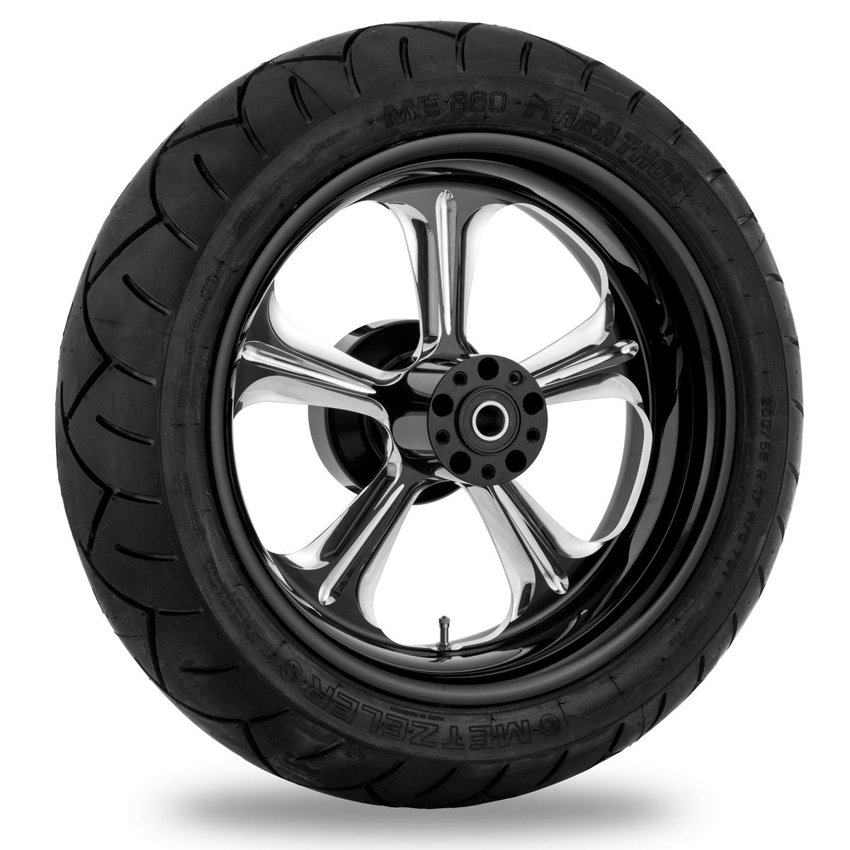 Performance Machine Wrath Platinum Cut Rear Wheel 18x3.5 ABS