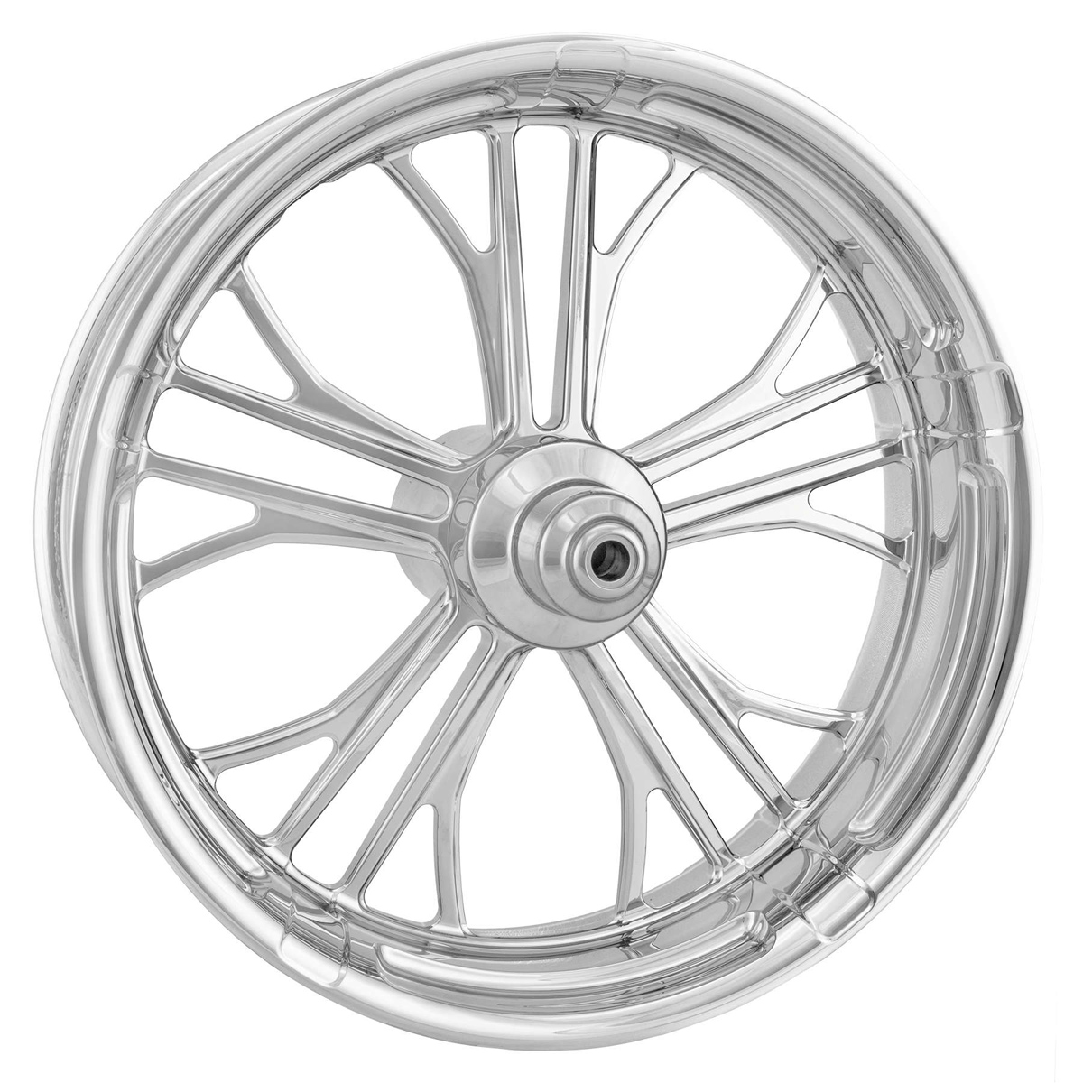 Performance Machine Dixon Chrome Front Wheel 23x3.5 Non-ABS