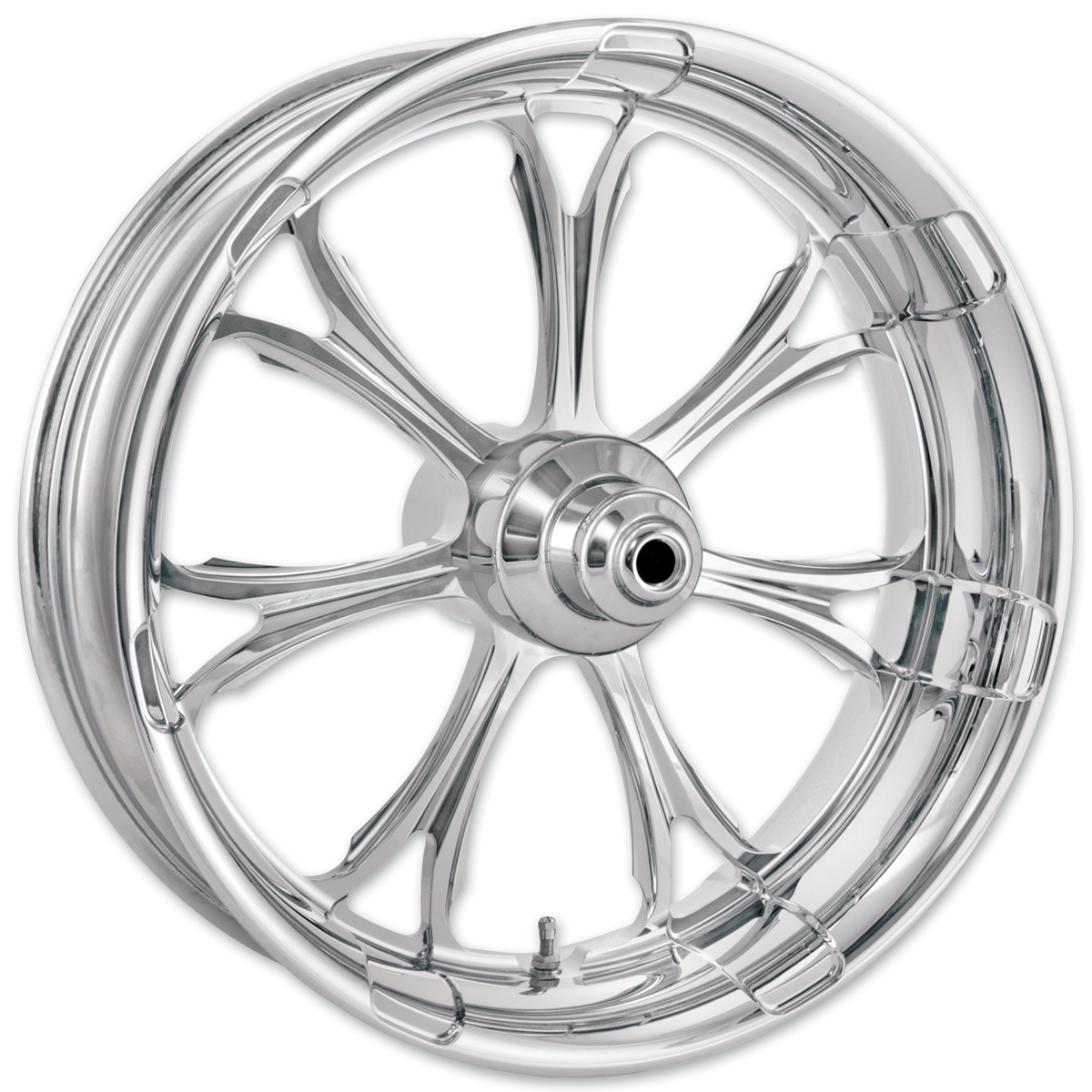 Performance Machine Paramount Chrome Front Wheel 18x3.5 Non-ABS