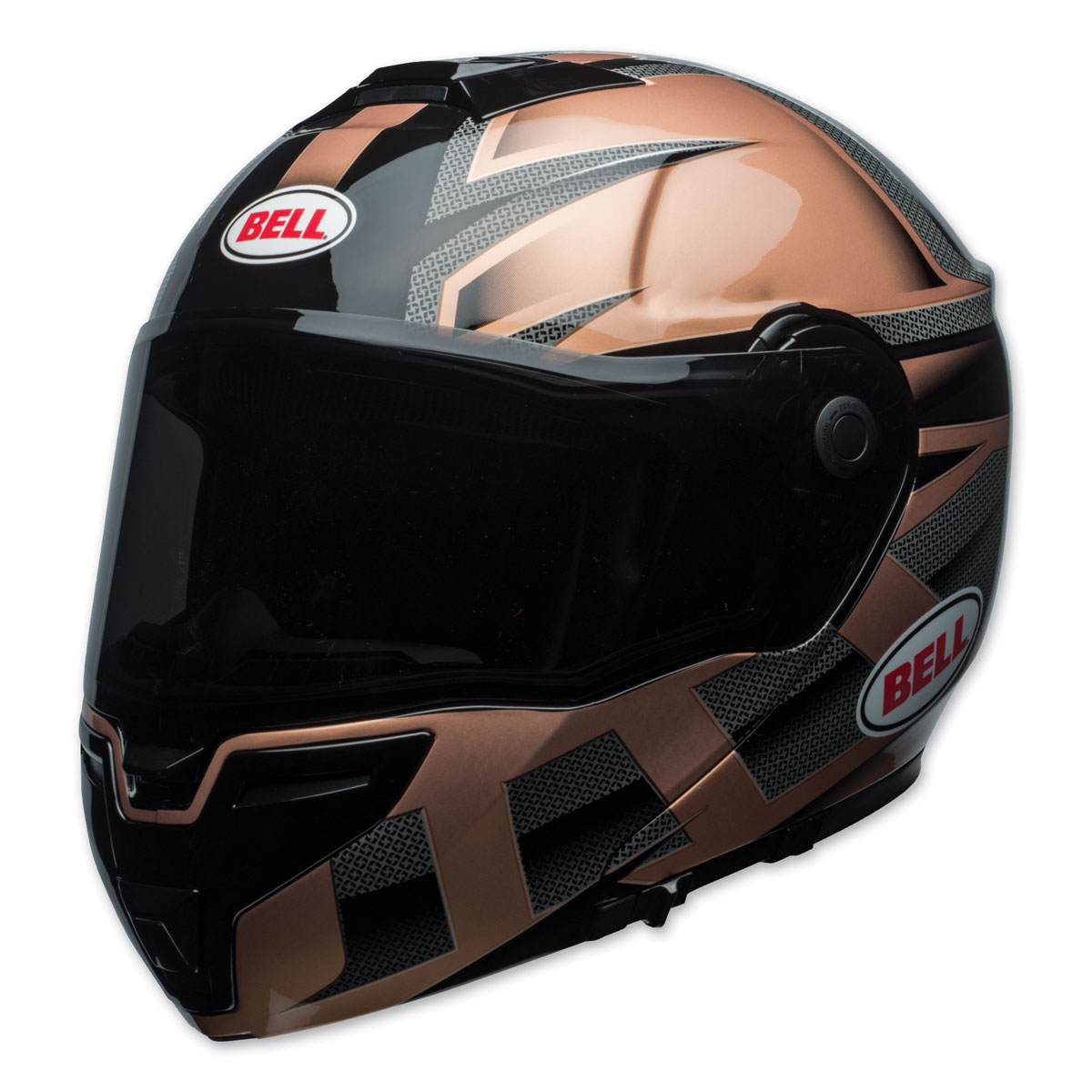 Bell SRT Predator Gloss Copper/Black Modular Helmet