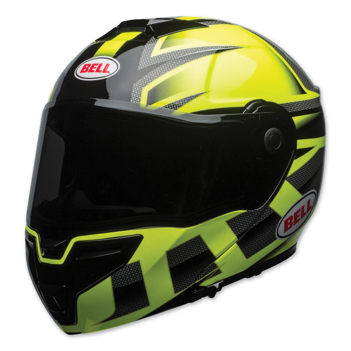 Bell SRT Predator Gloss Hi-Viz/Black Modular Helmet