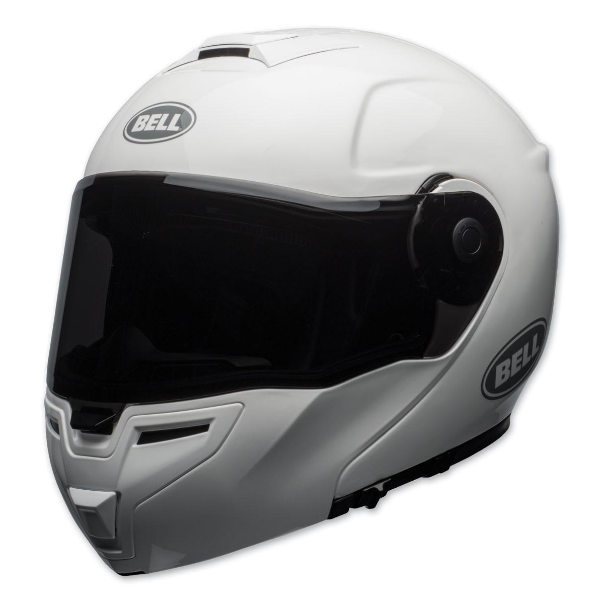 Bell SRT Gloss White Modular Helmet
