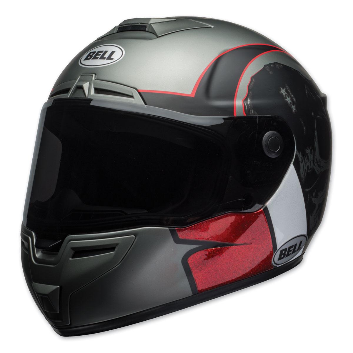 Bell SRT Hart Luck Skull Full Face Helmet