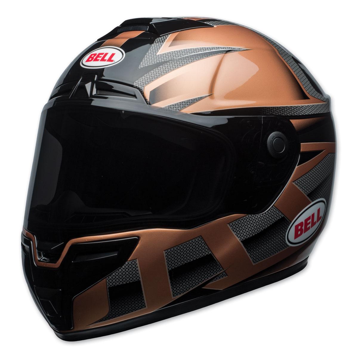 Bell SRT Predator Gloss Copper/Black Full Face Helmet