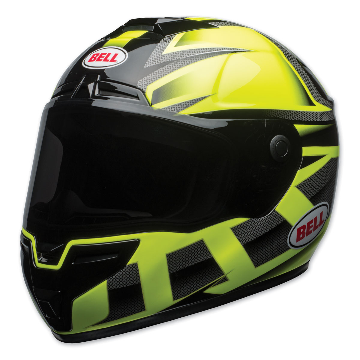Bell SRT Predator Gloss Hi-Viz/Black Full Face Helmet