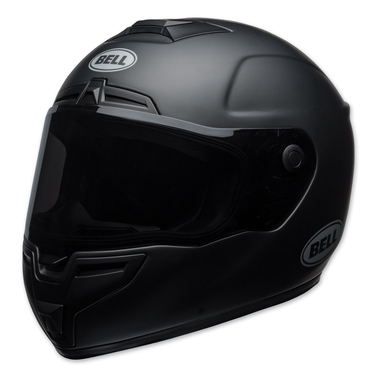 Bell SRT Matte Black Full Face Helmet