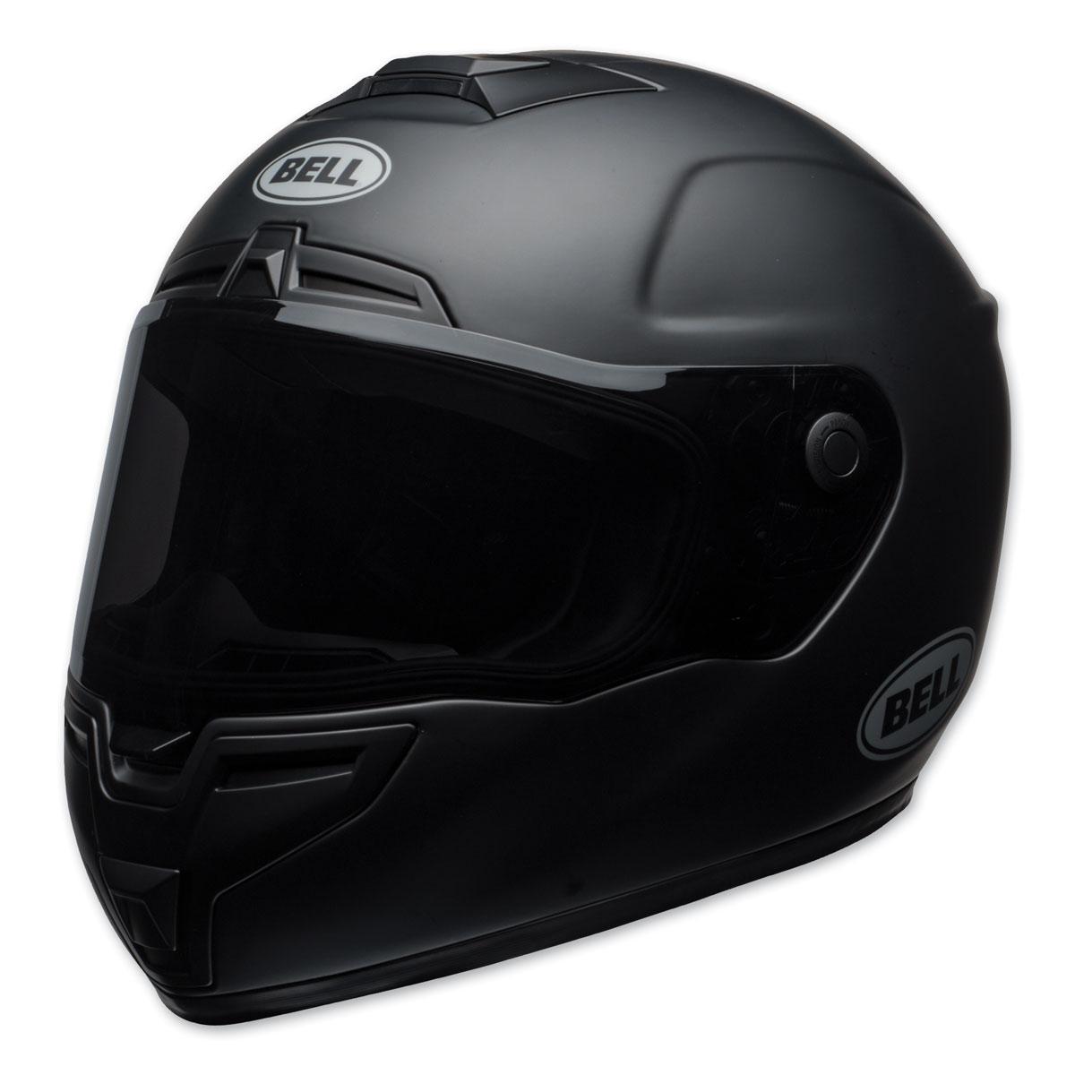 Bell SRT Matte Black Full Face Helmet