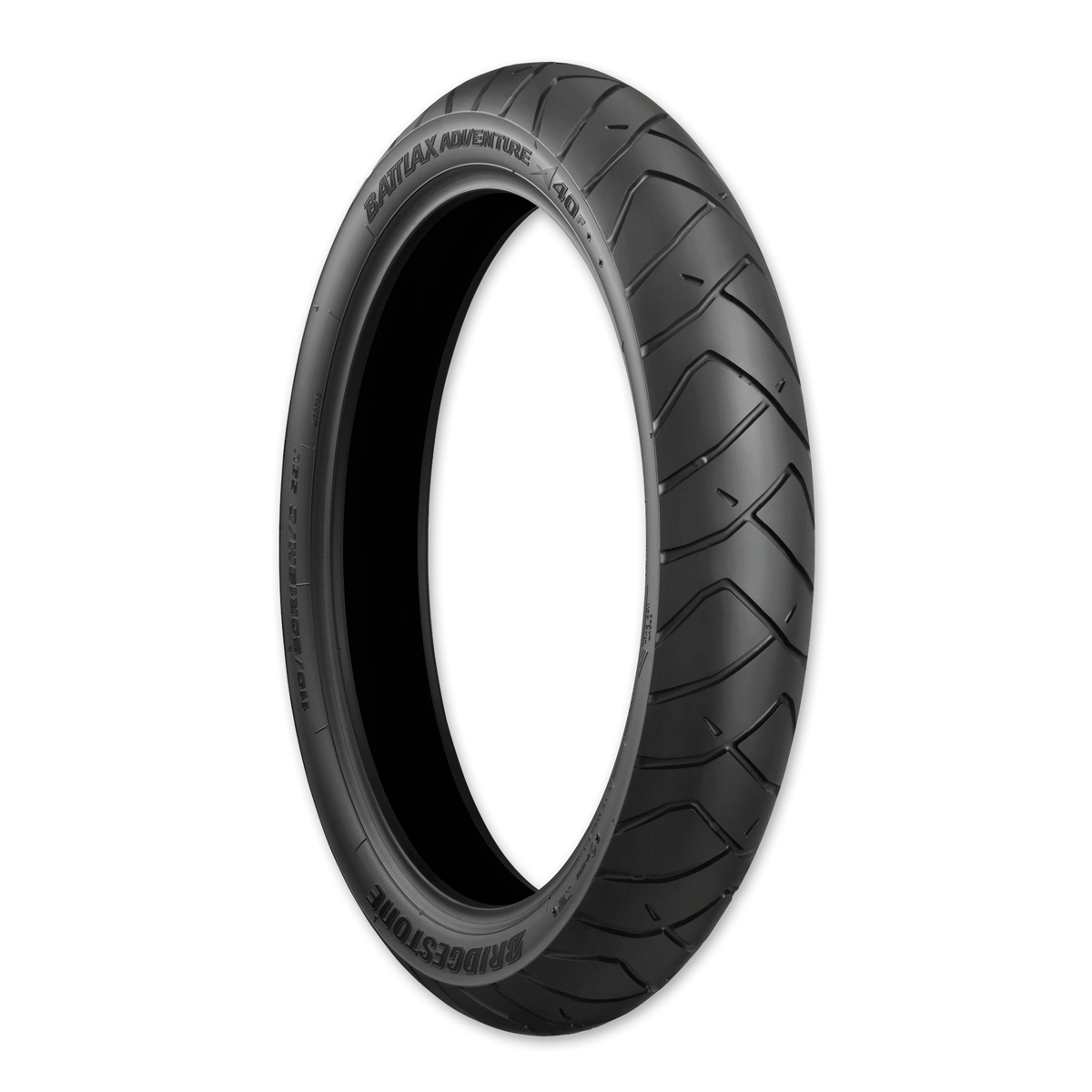 Bridgestone A40 110/80R19 TL Front Tire