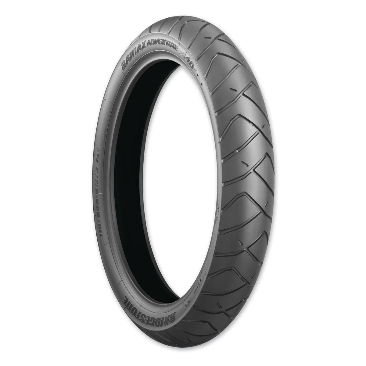 Bridgestone A40 110/80R19 Front Tire